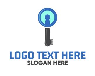 Key - Key Search logo design