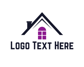 House - Black House logo design