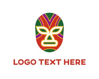 Mexican - Mexican Mask logo design