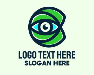 Visionary - Eye Care Letter C logo design