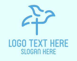 Religious - Religious Bird logo design