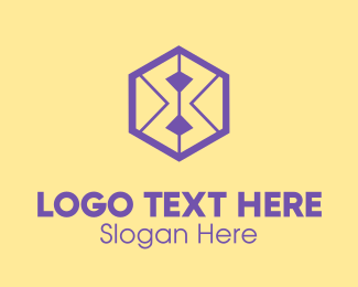 Number 8 - Hexagon Number 8 logo design