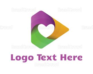Media - Heart Media logo design