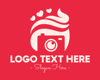 Confectionery - Sweet Confectionery Camera logo design