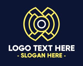 Maze - Tech Maze  logo design