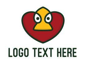 Duck Heart App  Logo
