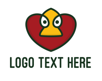 Duck Heart App  Logo