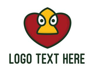 Logo Design - Duck Love