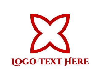 Blossom - Red Blossom logo design