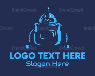 Robot - Electronic Robot logo design