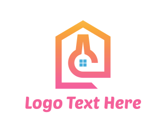 Pink Lab House Logo