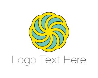 Mill - Solar Mill logo design