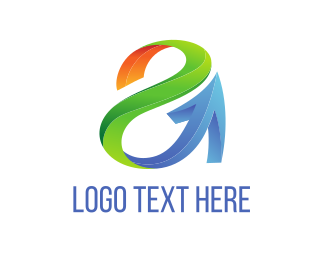 Sales - Tech Letter A  logo design