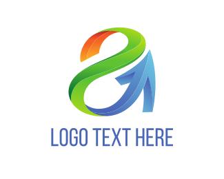 Sale - Tech Letter A  logo design
