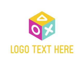 Kids - Box Game logo design