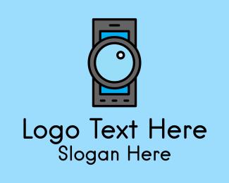 Mobile - Mobile Camera App logo design