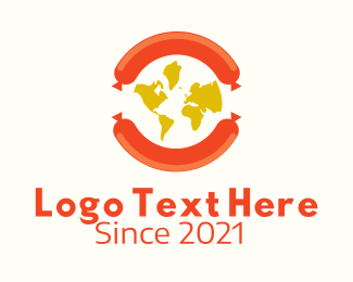 Company - International Sausage Company logo design