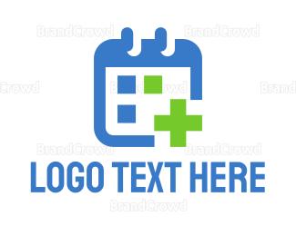 Rehab - Medical Calendar logo design