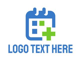 Medic - Medical Calendar logo design