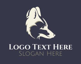 Coyote - Red Fox Head logo design
