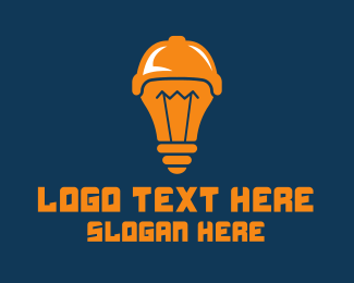 Idea - Sports Idea Light Bulb logo design
