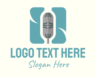 Voice - Microphone App logo design