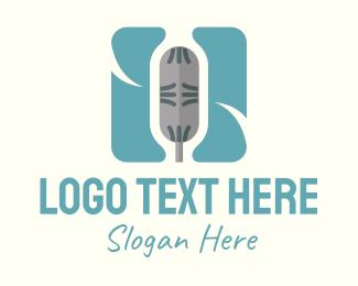 Microphone - Microphone App logo design