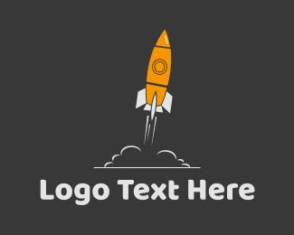 Space - Space Ship logo design