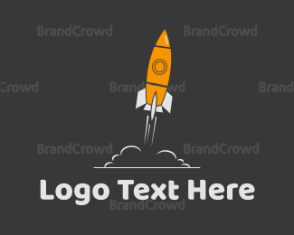 Coworking - Space Ship logo design