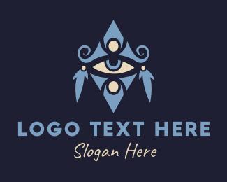 Tattoo - Bohemian Eye logo design