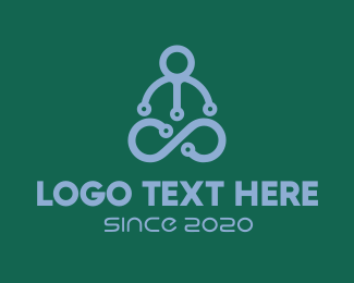 High Tech - Yoga Tech logo design