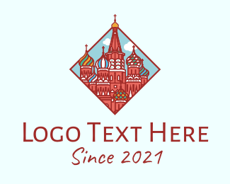 Holy Place - St. Petersburg Church logo design