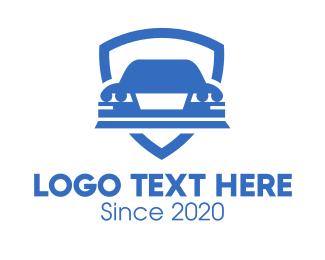Insurance - Car Insurance Shield logo design