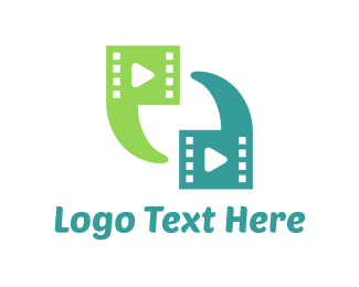 Youtube - Video Chat logo design