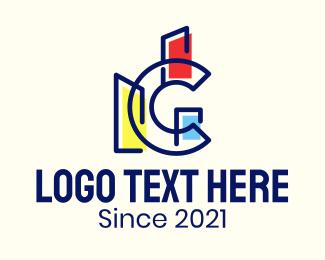 Real Estate - Letter C Building Structure logo design