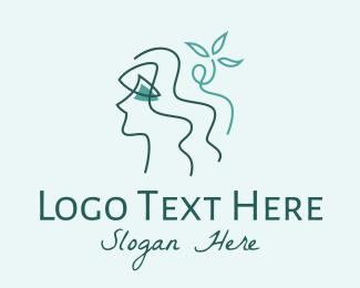 Gal - Natural Beauty Botanicals logo design