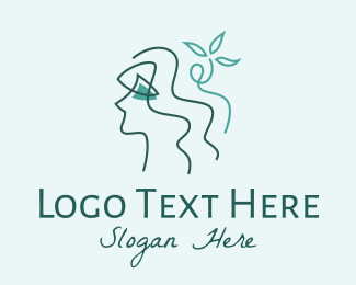 Hair Product - Natural Beauty Botanicals logo design
