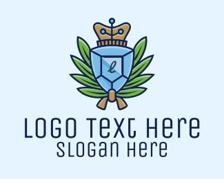 Organizer - Diamond Wreath Lettermark logo design
