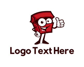 Delivery Service - Red Box logo design
