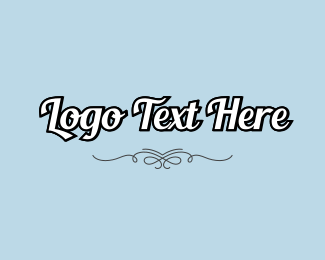 Script - Retro Script Wordmark logo design