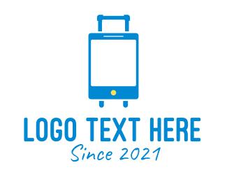 Social Media - Smart Travel App logo design