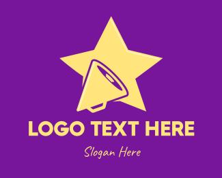 Tv Show - Media Entertainment Star logo design