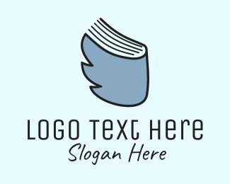 Literature - Bird & Book logo design