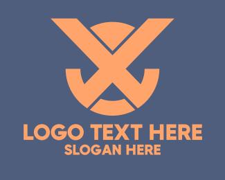 Reflection - Generic Business Letter X logo design