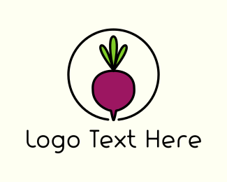 Vegetable - Fresh Beet logo design