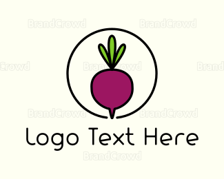 Food Truck - Fresh Beet logo design