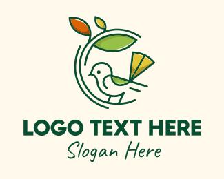 Landscaping - Garden Bird Landscape logo design