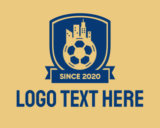Shield - Soccer City Emblem logo design