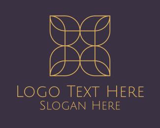 Makeup Artist - Minimalist Flower logo design