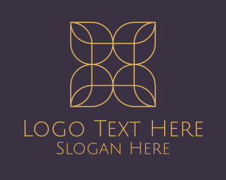 Brand - Minimalist Flower logo design